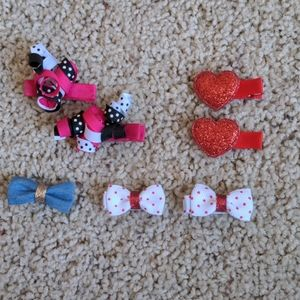 Bundle of baby hair clips